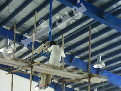 پروژه نصب دوربین مدار بسته - شرکت